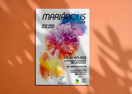 Campanha impressa Mariapolos Bahia
